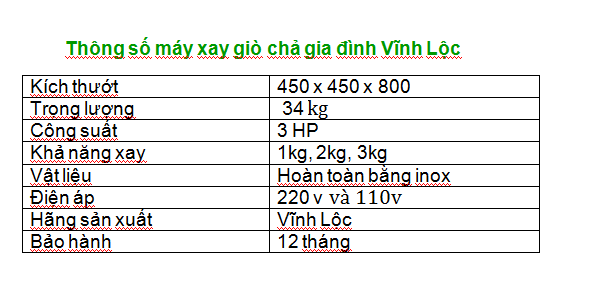 Máy Xay Chả Lụa 2kg 4
